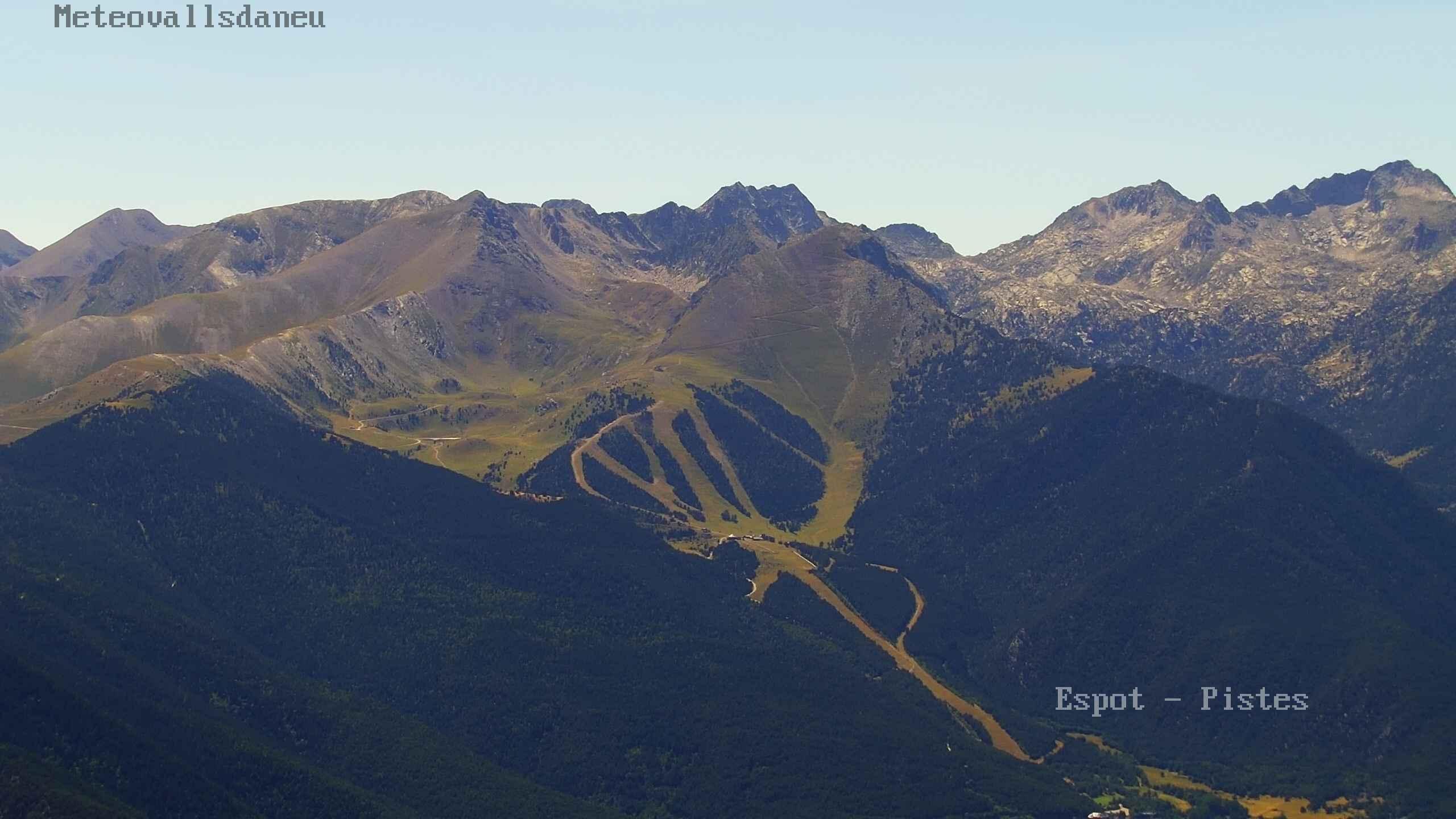Webcam en Panorámica Estación, Espot Esquí (Pirineo Catalán)