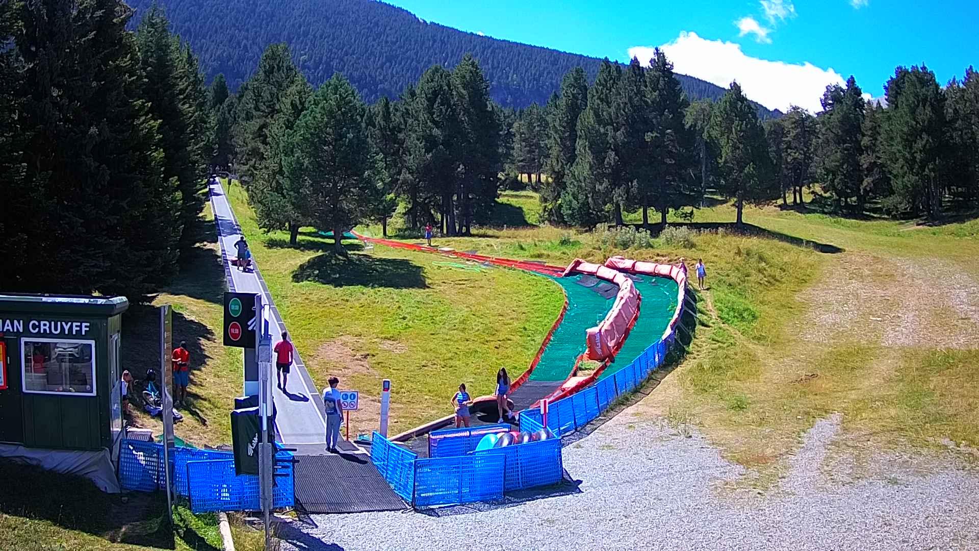 Webcam en Tubbing