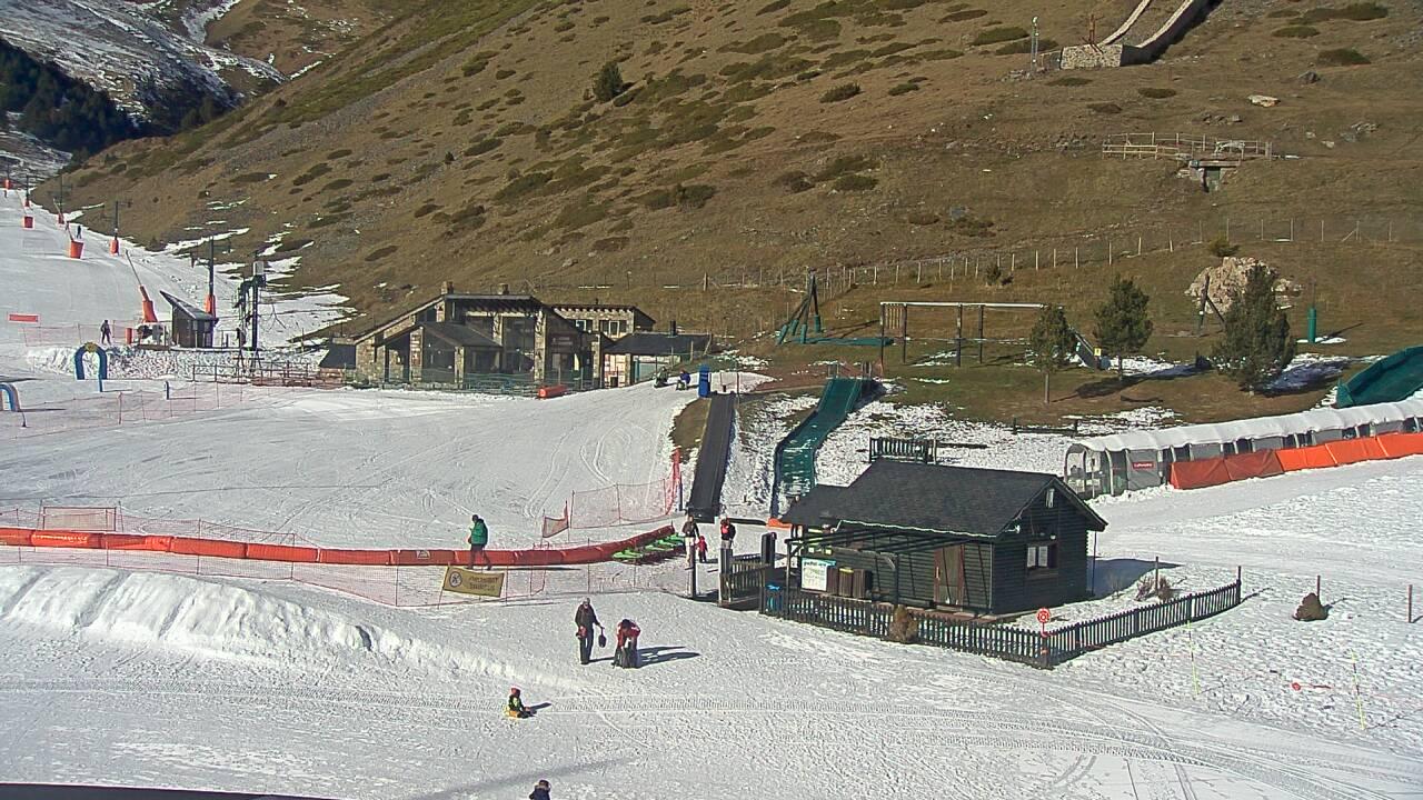 Webcam en Parc Lúdic, Vall de Nuria (Pirineo Catalán)