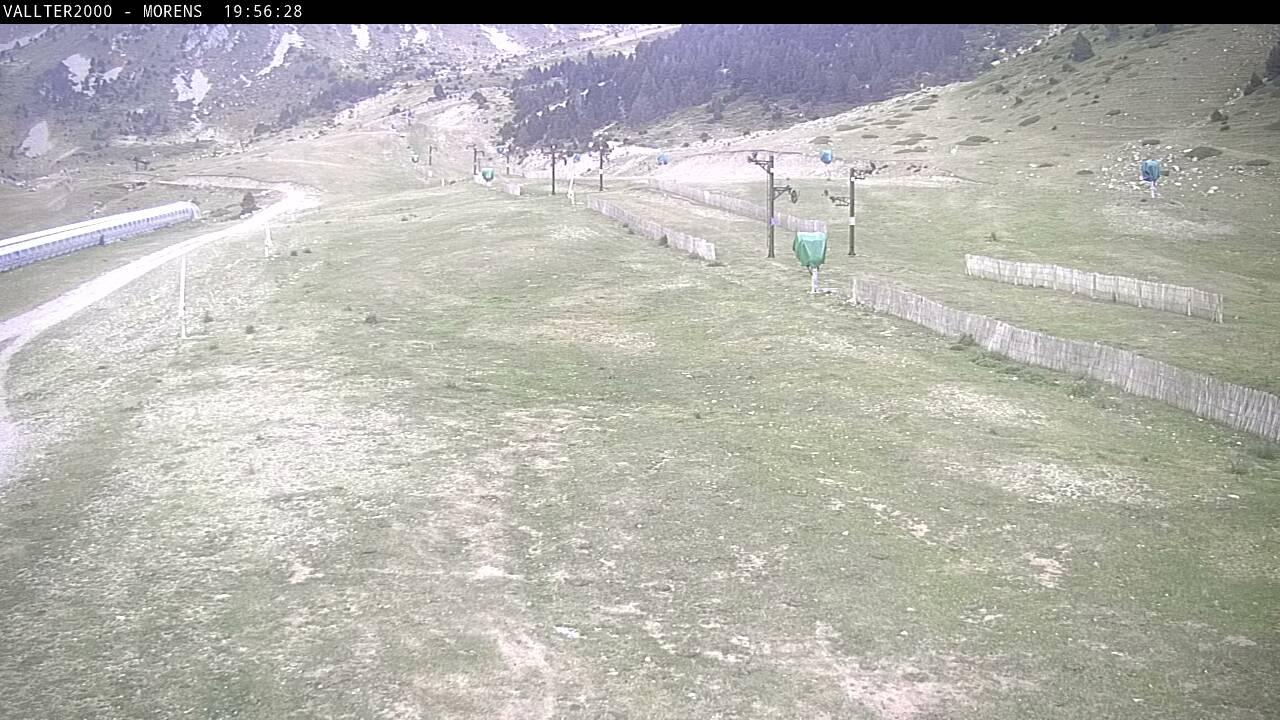 Webcam de la Estación de Esquí de Vallter 2000 (Pirineu de Girona)